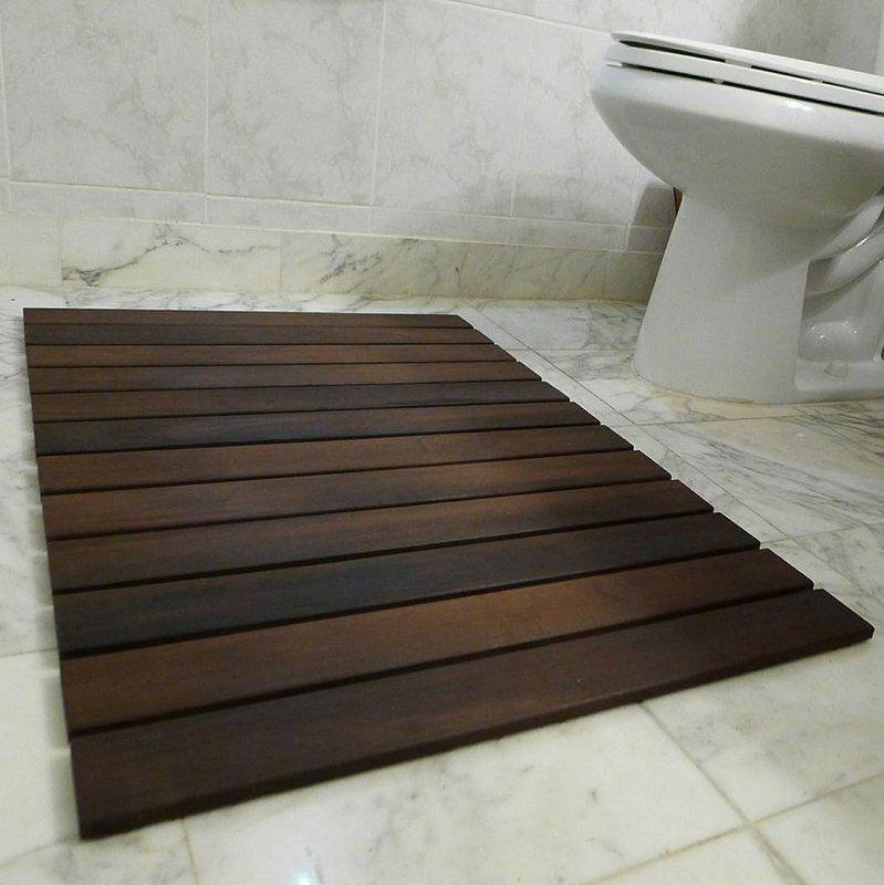 Indoor Outdoor 24 X 36 Wood Deck Tile In Oiled Wood Deck Wood