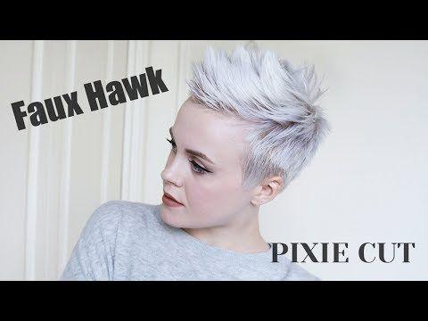 Pixie cut faux hawk tutorial easy drugstore products youtube pixie cut faux hawk tutorial easy drugstore products youtube urmus Gallery