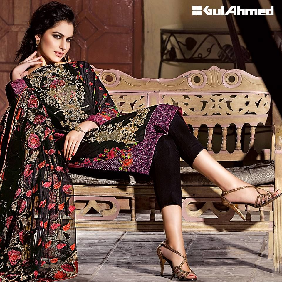 a70921dc05 Gul Ahmed Summer Embroidered Lawn Dresses Collection 2016-2017