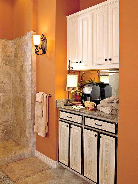 Coffee Bar In Master Bathroom Home Decor Home