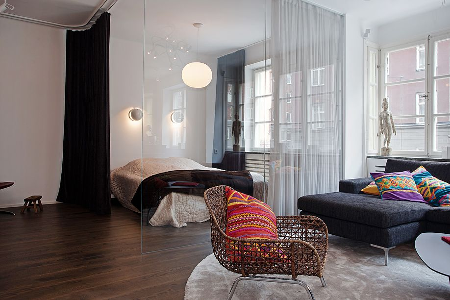 apartment living \u003c3 Pretty interiors Pinterest Curtains
