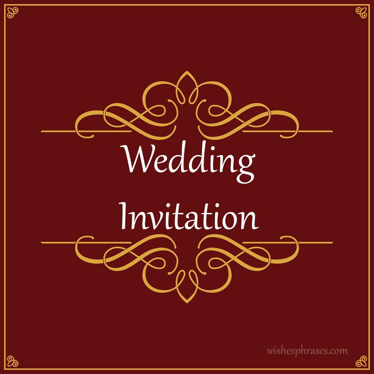 Indian Wedding Invitation Wording | Messages | Pinterest | Indian ...