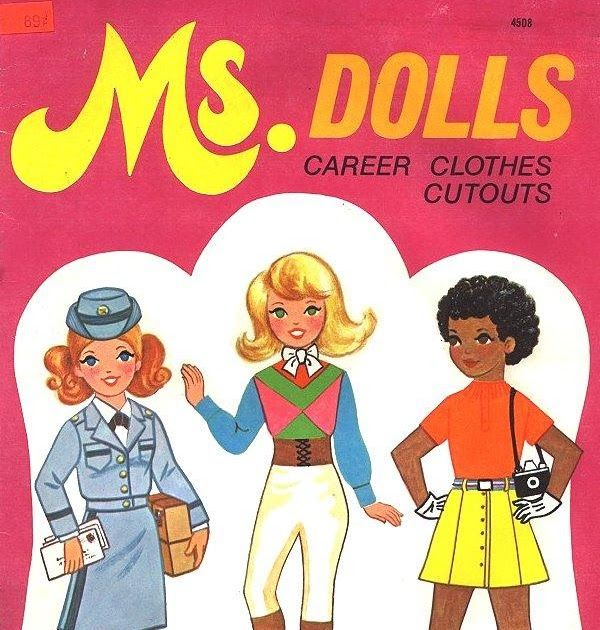 Because all girls in 1976 aspired to be Geishas, Belly Dancers, or walking Peppermint Sticks.