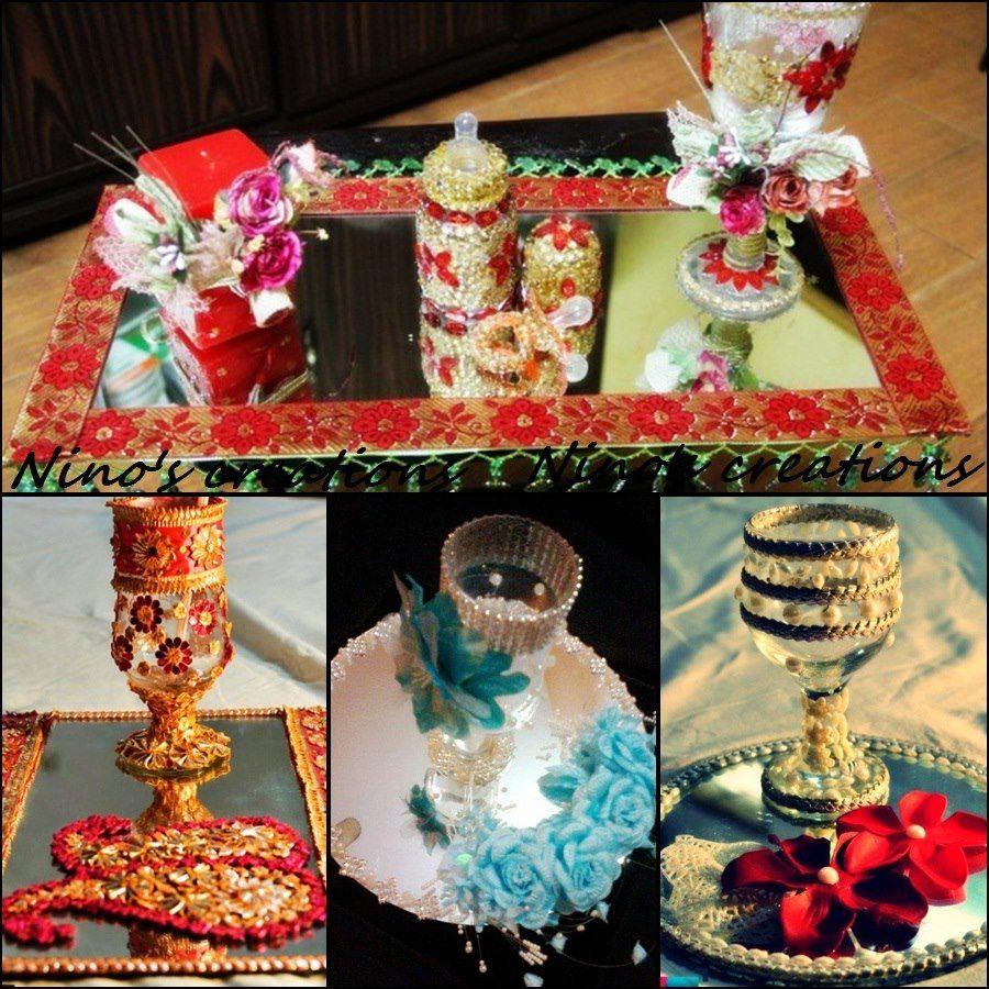 doodh pilai glass decoration - Glass Decorations