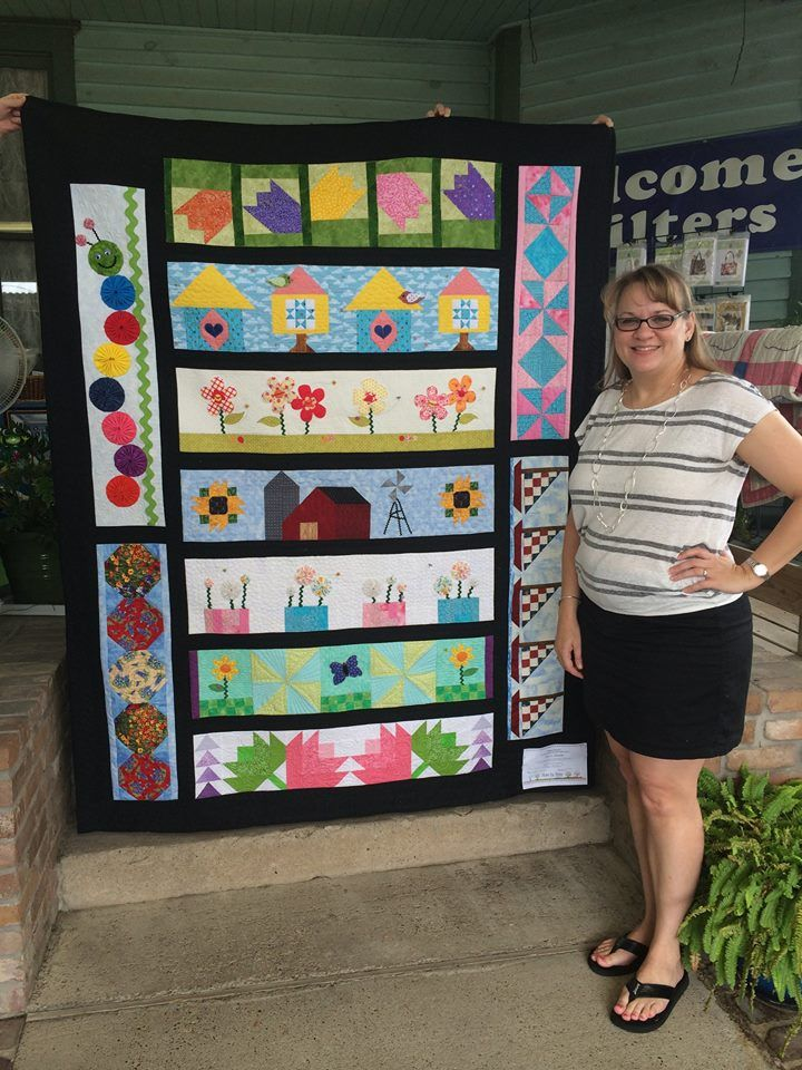 Karen B. turned her quilt into Tea Time Quilting in Houston, TX ... : tea time quilting - Adamdwight.com