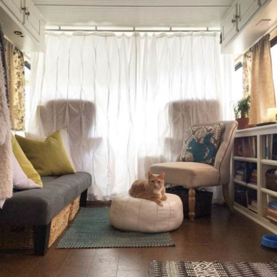 Clever and genius ideas for full time rv living 58