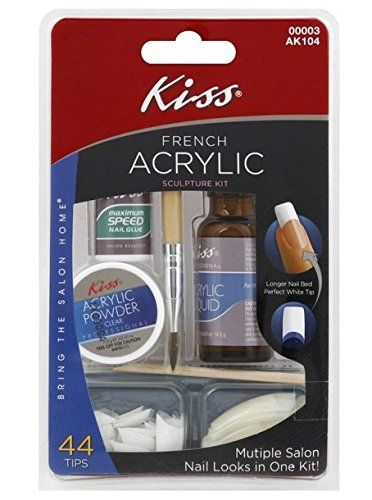 Kiss French Acrylic Manicure Sculpture Kit 44 Tips More Info Could Be Found At The Image Url Acrylic Nail Kit French Acrylics Acrylic Sculpture
