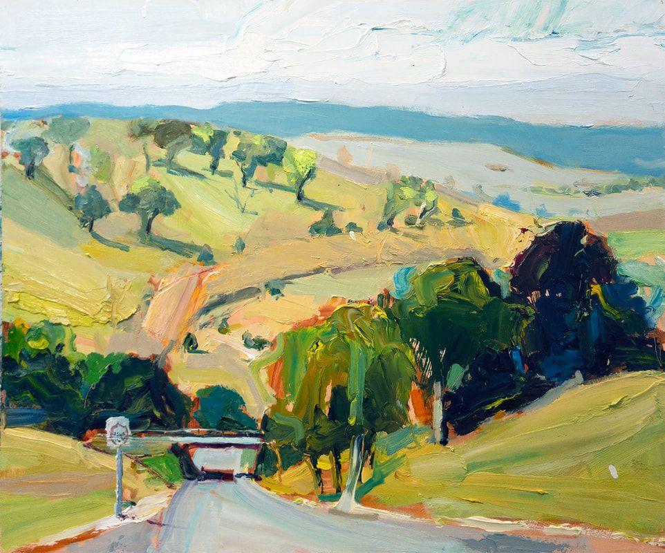 Richard Claremont News In 2020 Landscape Landscape Paintings Winter Sky