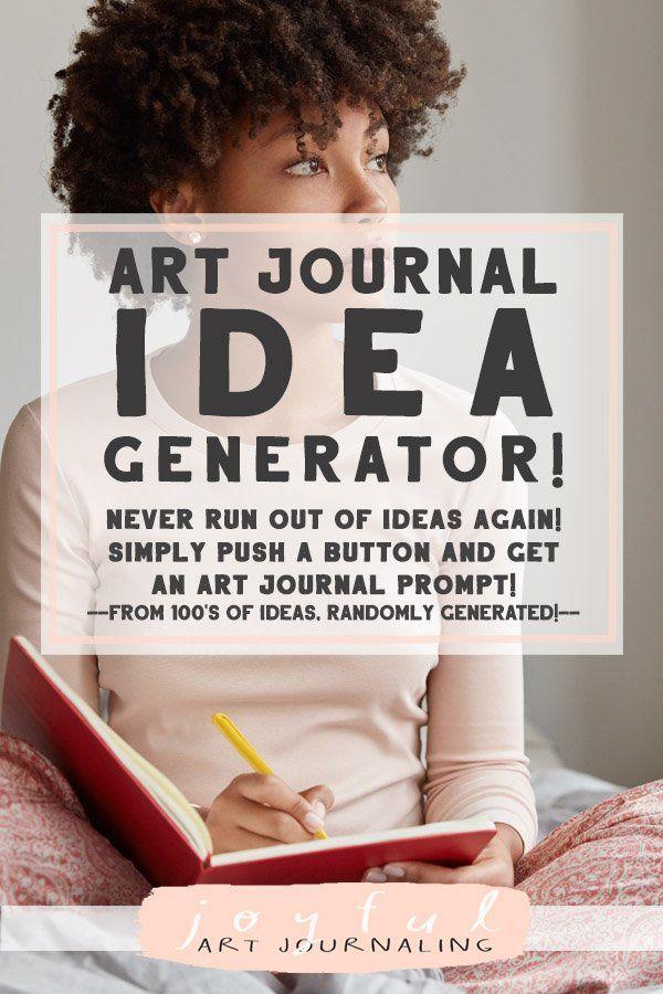 Art Journal Idea Generator