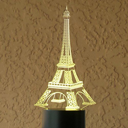 Chimaera 3d Magical Optical Illusion Eiffel Tower Lamp Check This Awesome Product By Going To The Link At Th Eiffel Tower Lamp Optical Illusions 3d Led Lamp