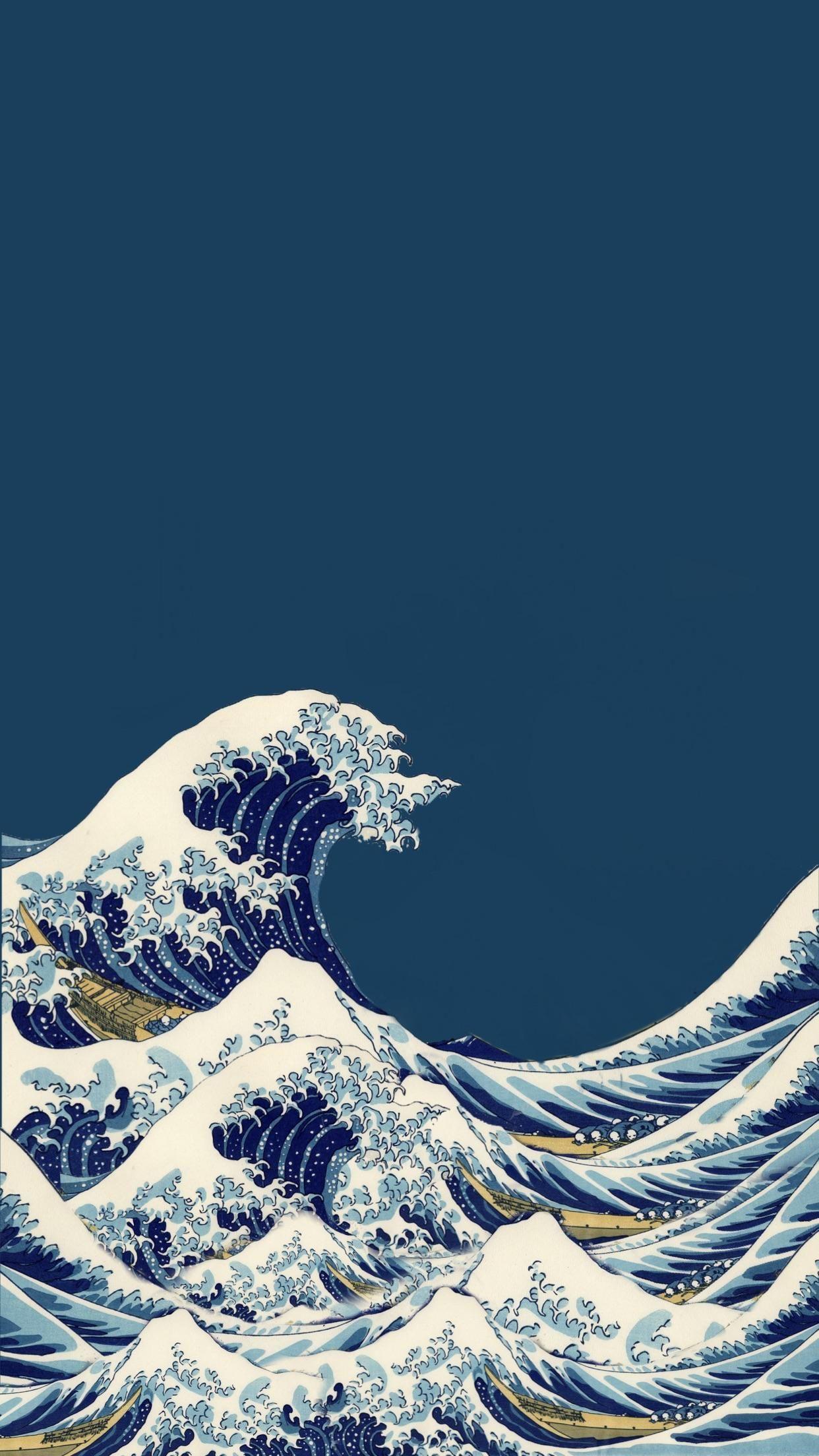the great wave kanagawa wallpapers
