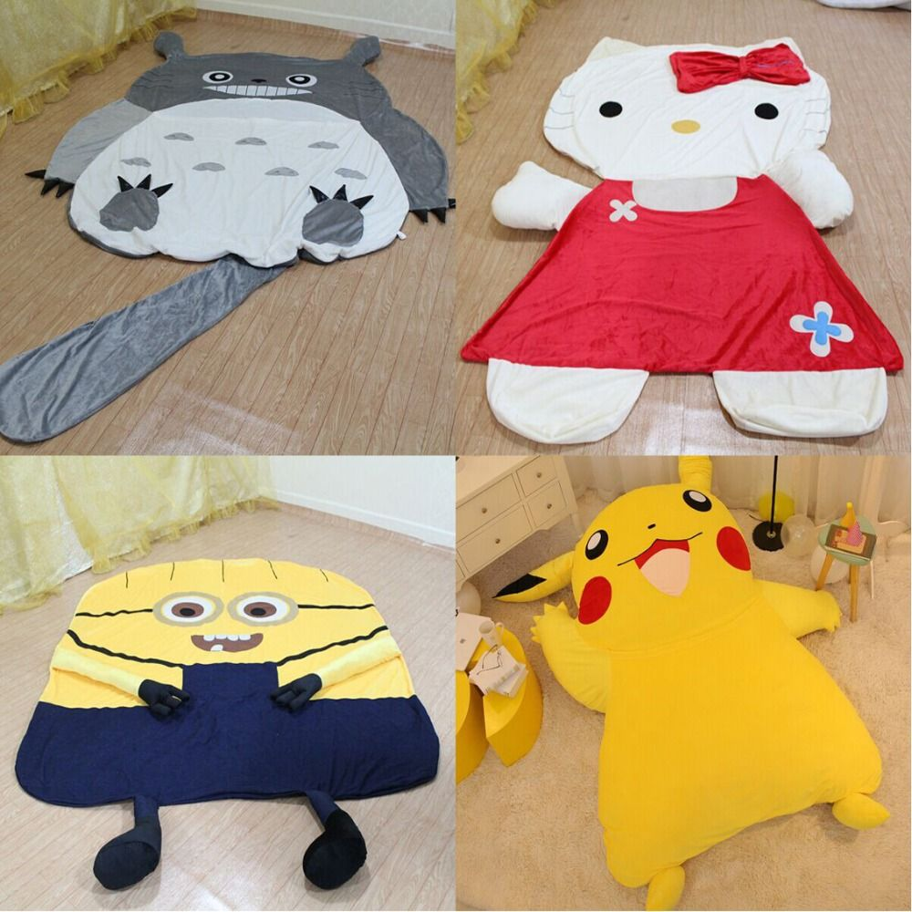 Gunstige Grosse Cartoon Totoro Schlafen Bett Tasche Holster Pikachu