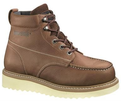 c2f7609867a3 Wolverine Moc Toe Non-Safety Toe Work Boots - Mens Brown