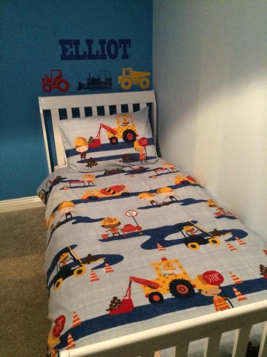 timeless design 80e3d ffc30 Next Digger bedding | Levi's bedroom in 2019 | Kids room ...