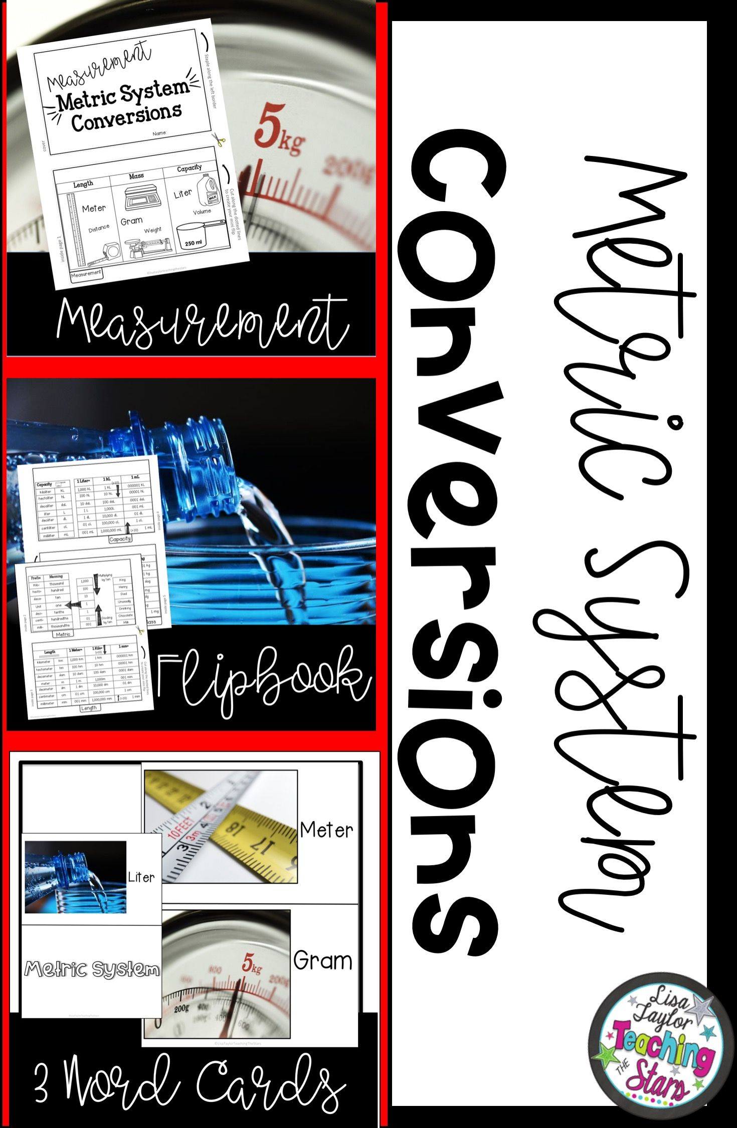 Measurement Flipbook Worksheet Is A Great Resource To Use
