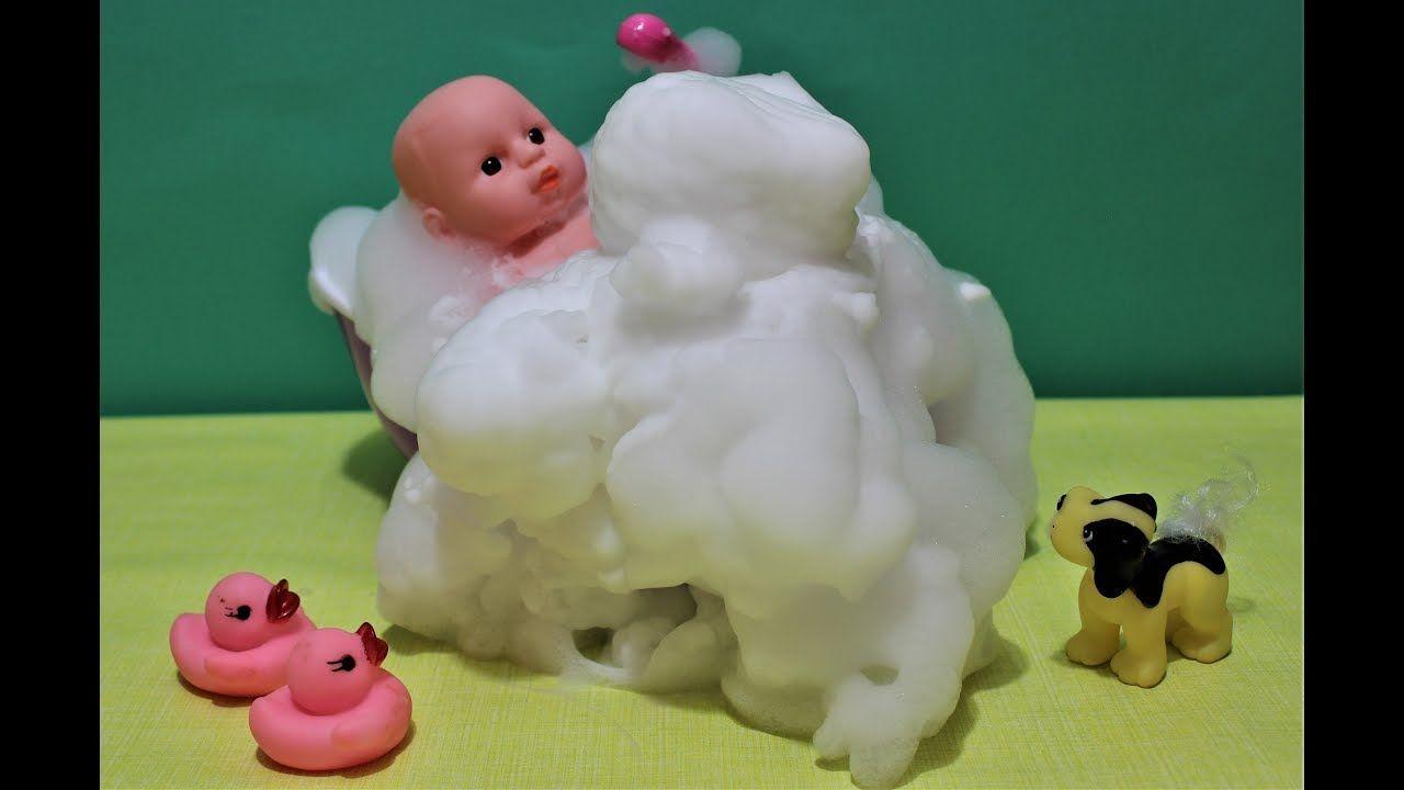 Baby Doll Bath Times Foam Soap Slime Kids Baby Doll Toys Dolls And Best Kids Toys Baby Dolls Kids Toys