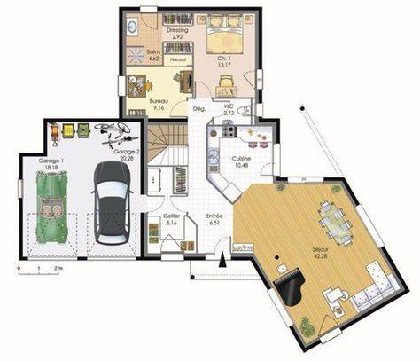 Maison contemporaine maison Pinterest - faire construire sa maison par des artisans