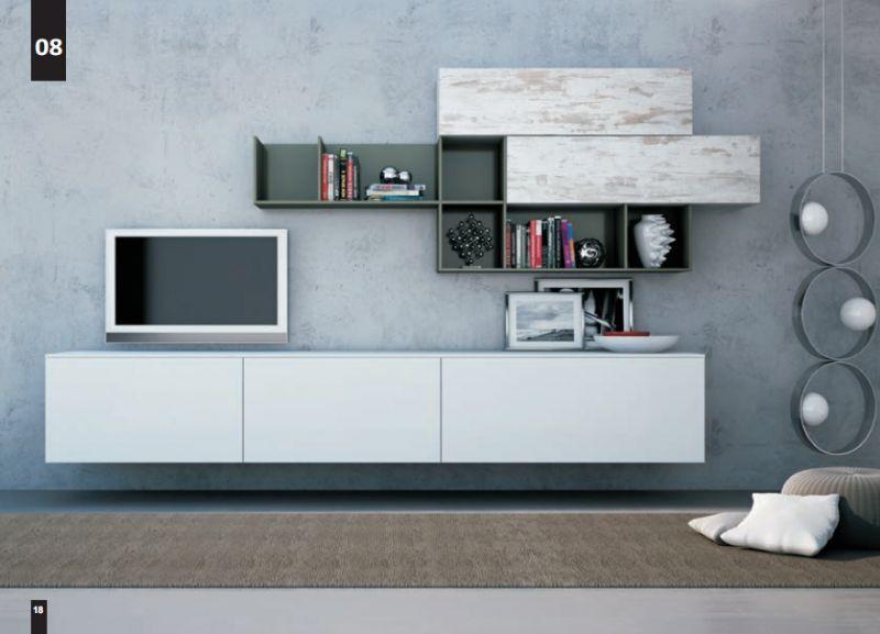 Composizioni Soggiorno Design ~ Kico living composizione n. 8 moderno soggiorno il soggiorno