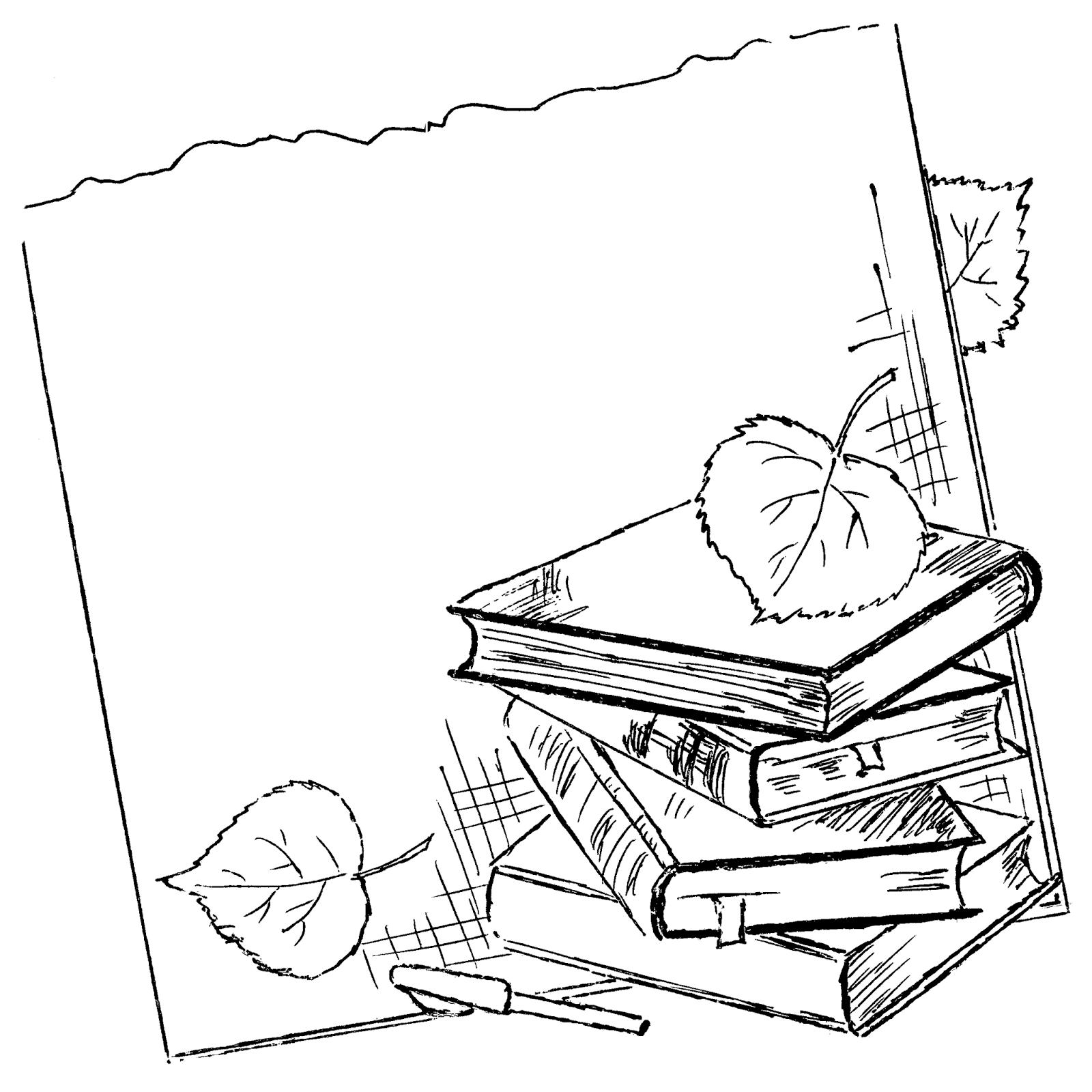 Школа картинки карандашом