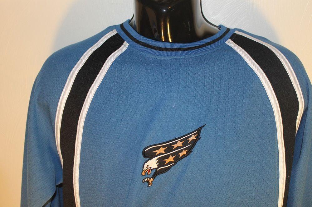 outlet store 0b5a1 f1c08 Washington Capitals Jersey Shirt NHL Vintage Logo Eagle ...