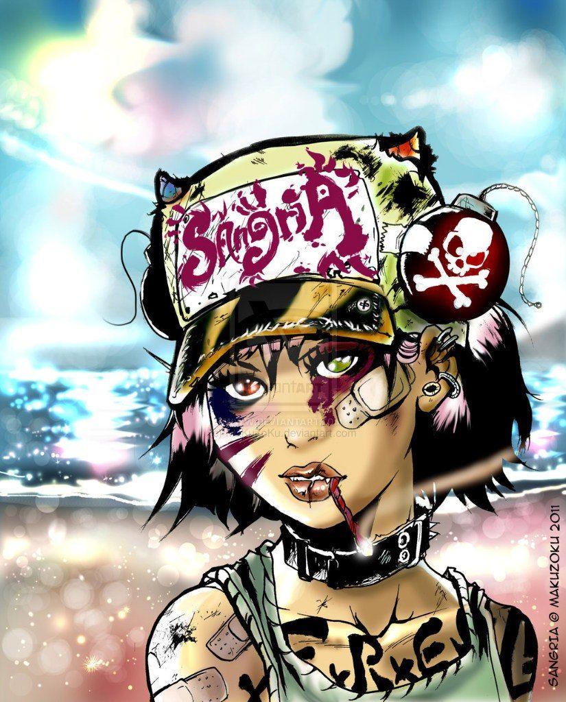 cyberpunk art graphic future (с изображениями)