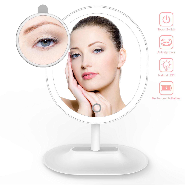Makeup Mirror USB Rechargeable Ultra Bright Vanity Mirror