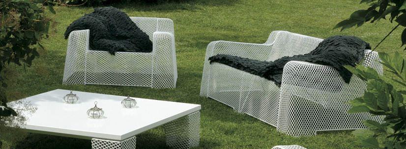 Ivy Contemporary Sofa Garden Mesh Steel By Emu Outdoor Furniture Sets Contemporary Sofa Garden Mesh