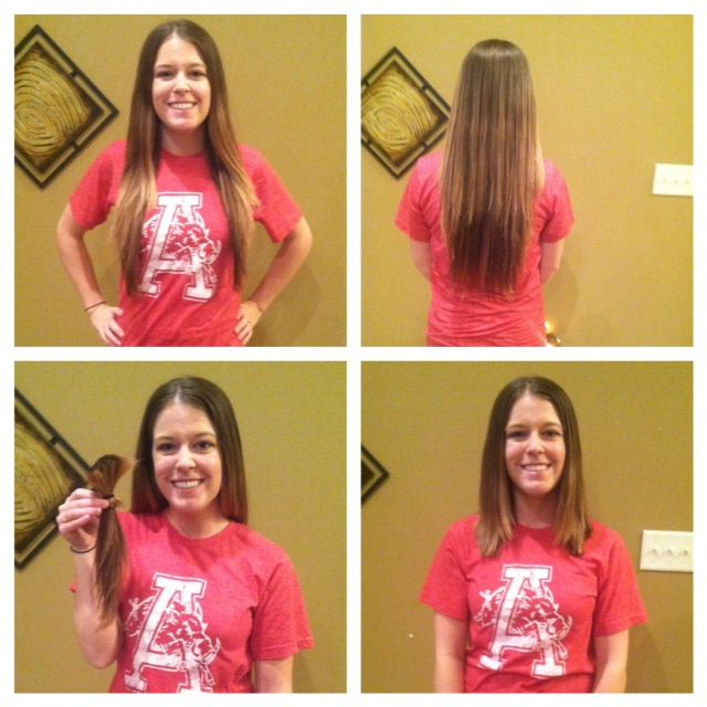 Donating Hair To Locks Of Love Hair Donation For A Good Cause