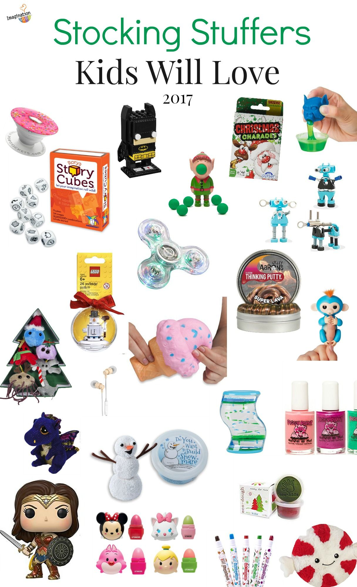 Stocking Stuffers For Kids And Teens Ages 3 18 Imagination Soup Stocking Stuffers For Kids Christmas Stocking Stuffers Stocking Stuffers