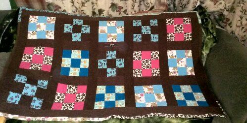 My First Baby quilt FINISHED (front)