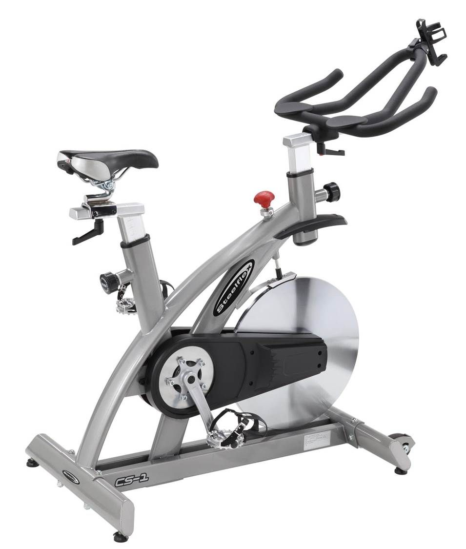 Steelflex Cs1 Commercial Studio Bike Is An Indoor Cycling Bike And Is A Top Trainer With A Sturdy Frame 20kg Flywheel Exercise Bikes Indoor Cycling Bike Bike