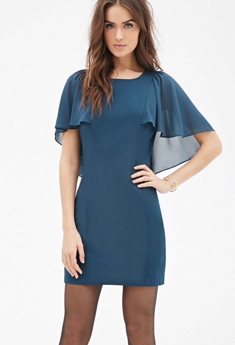 Contemporary love forever sheath dresses sleeve and