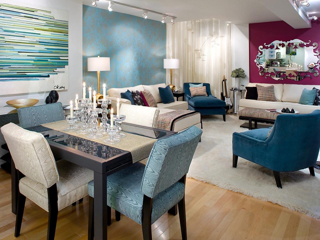 Design Tips From Candice Olson Color Combos Salas Y Comedor Juntos Decoraci 243 N De Unas Dise 241 Os De Salas Peque 241 As