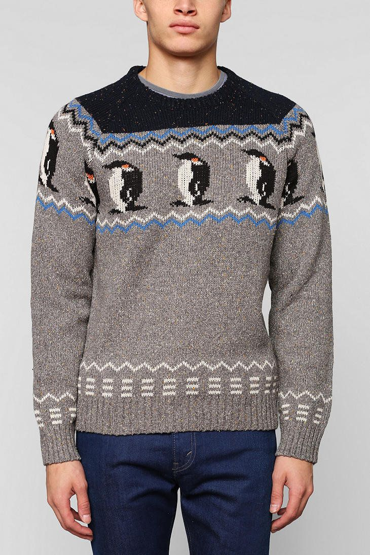 Character Hero Penguin Sweater , Urban Outfitters on Wanelo
