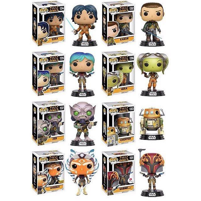 Star Wars SABINE Rebels Pop Vinyl Figure