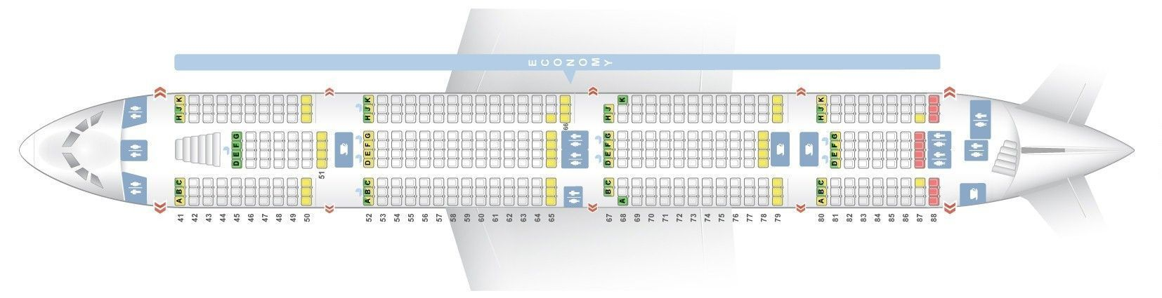 Emirates A380 Seat Map 50 Emirates Flight Seat Layout Jl0x