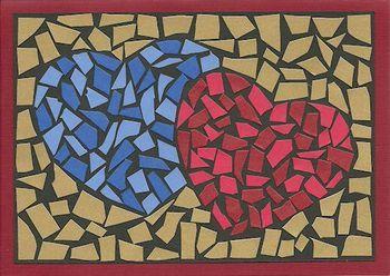 Portal Do Professor Discutindo A Convivência Na Escola Um Tema Mosaico De Papel Arte Em Mosaico Projetos De Arte Infantil