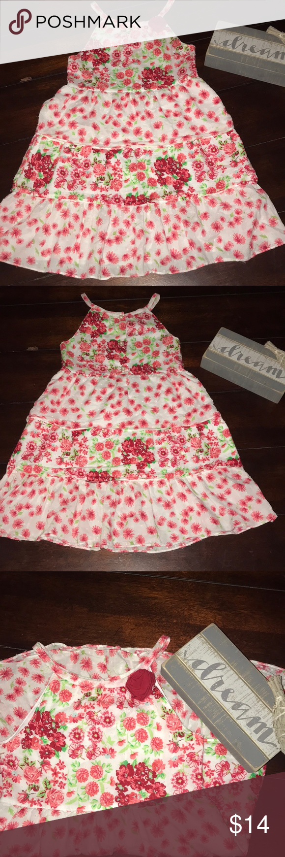 be6bf6b57 Penelope Mack floral dress Cute Penelope Mack 3tier floral dress Size 6 EUC  No stains or holes Smoke free home Bundle to save Penelope Mack Dresses  Casual