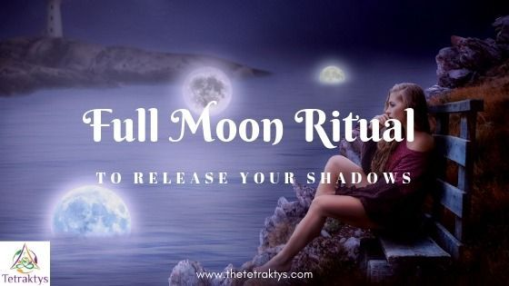 Full Moon Ritual to Release Your Shadows - Step by Step Guide #newmoonritual Full Moon Ritual to Release Your Shadows Rejoice witches! It's the Full Moon again! It's the perfect time to celebrate your accomplishments and express your gratitude to the Universe. But #newmoonritual