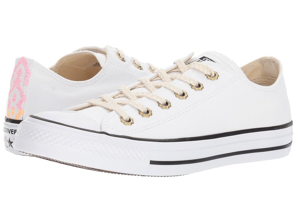 9072dbbf1346ab CONVERSE CONVERSE - CTAS OX (WHITE SUNSET GLOW PINK GLOW) WOMEN S LACE UP  CASUAL SHOES.  converse  shoes