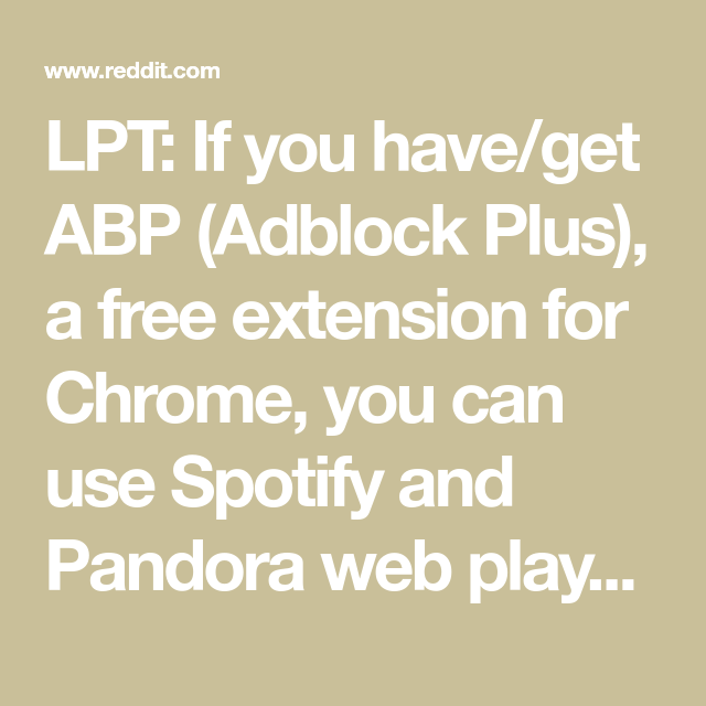 lpt if you have get abp adblock plus a free extension for chrome