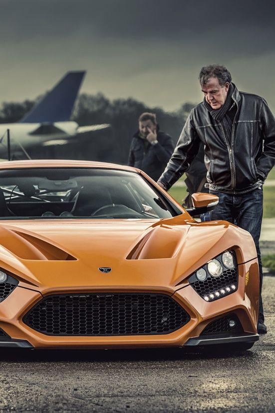 Top Gear On Zenvo C Loop Samochody Motocykle Historia