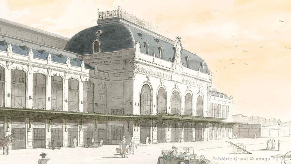 Regie Tadary Immobilier Curis Architectes Croquis Gare Des