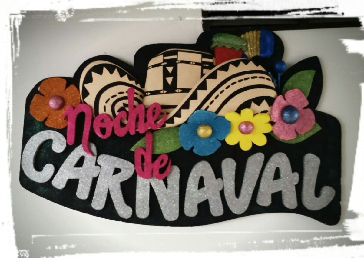 Decoración tema Carnaval de Barranquilla