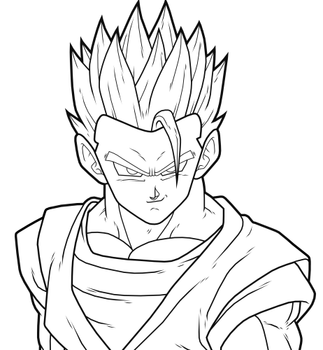 Gohan Ssj2 By Drozdoo Fan Art Digital Art Drawings Google Search