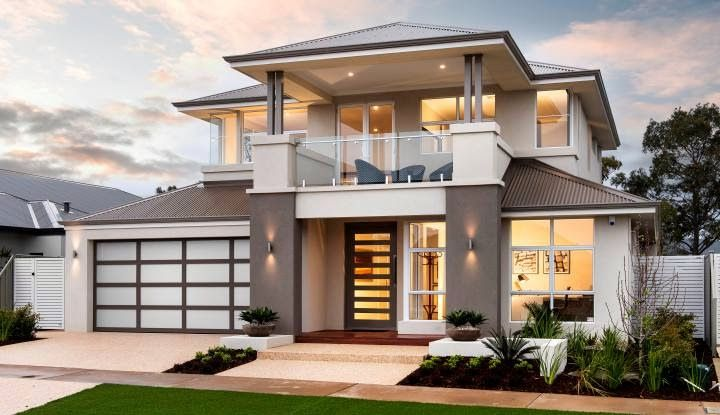 Contemporary double storey residential villa home decoratings and diy nehomi vega bloxburg house ideas also best images decor living room bedrooms rh pinterest