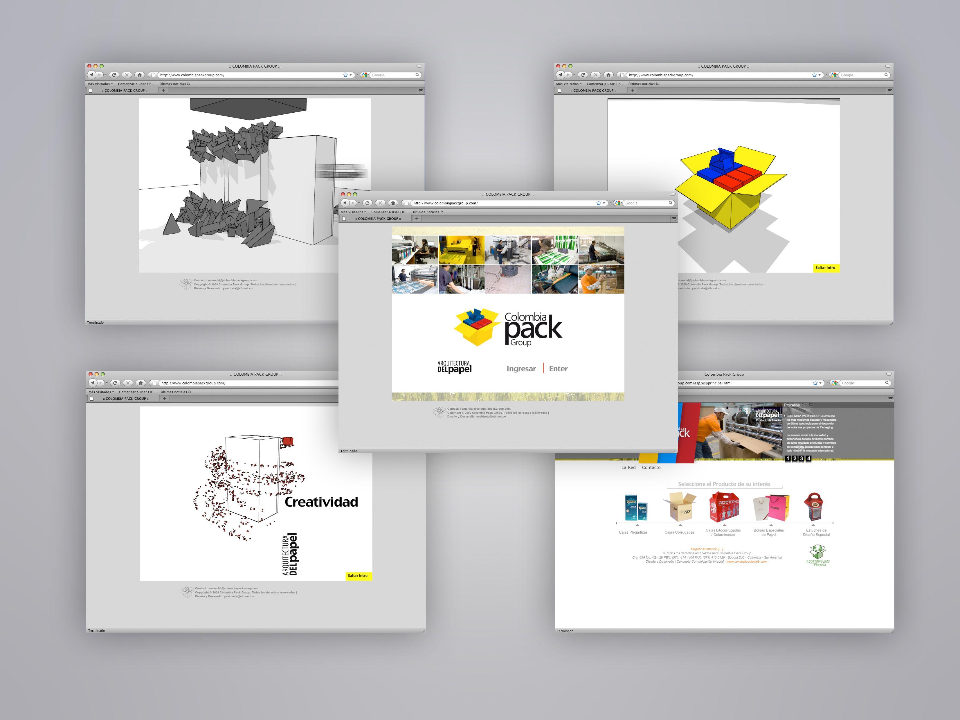 Web Site Industria Impresos