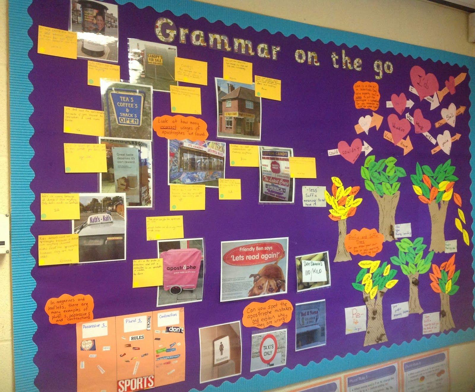 Mrs Kirvars Creative Corner Lots Of Grammar Practice