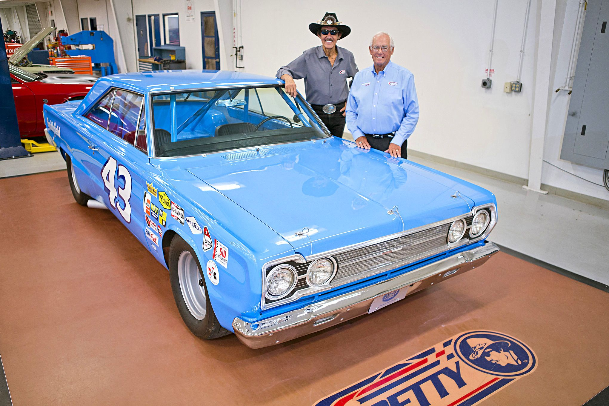 richard petty s street legal 650hp 1967 plymouth belvedere tribute rh pinterest com