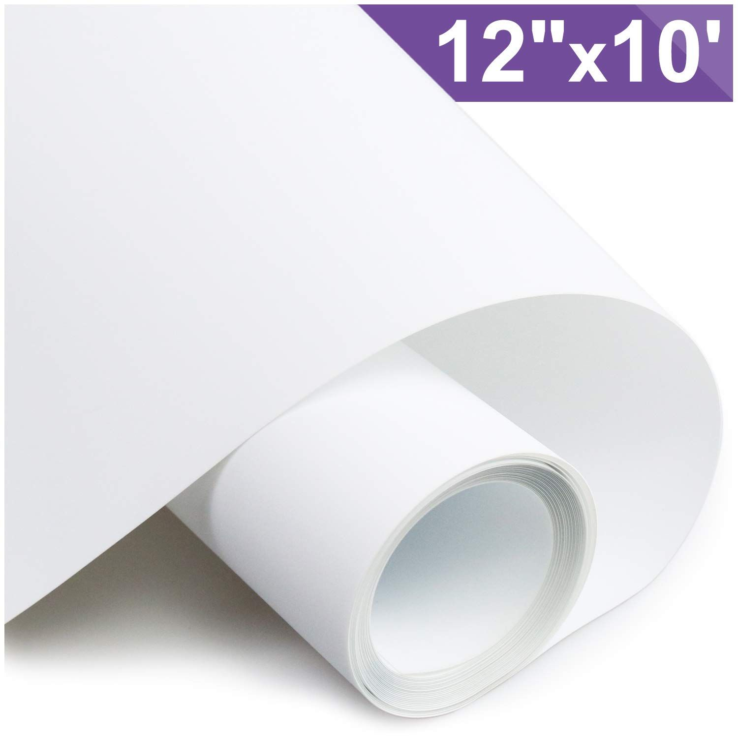 Arhiky Heat Transfer Vinyl Htv For T Shirts 12 Inches By 10 Feet Rolls White Waterfilter Ledringligh Heat Transfer Vinyl Heat Press Transfers Heat Transfer